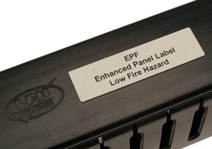 EPF bezhalogenové značení panelů PARTEX